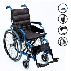 Junior, Light Aluminium Folding Childs Wheelchair.